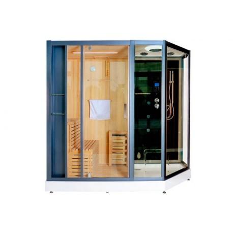 Cabina Doccia Multifunzione Sauna.Cabina Doccia Idromassaggio Bl 613 C C Dimensioneacque